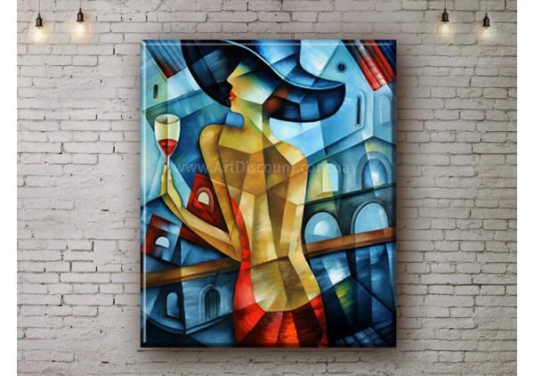 Репродукция картины, печать на холсте со скидкой до -50%, ArtDR0350