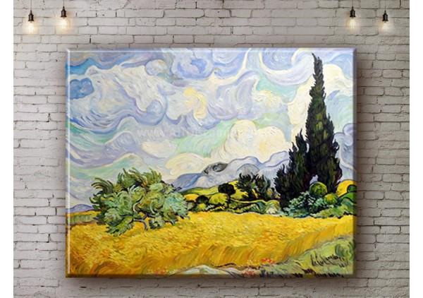 Репродукция картины, печать на холсте со скидкой до -50%, ArtDR0359