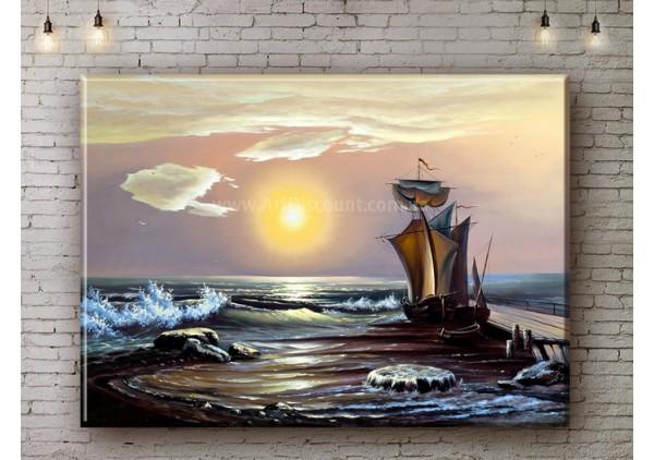 Репродукция картины, печать на холсте со скидкой до -50%, ArtDR0488