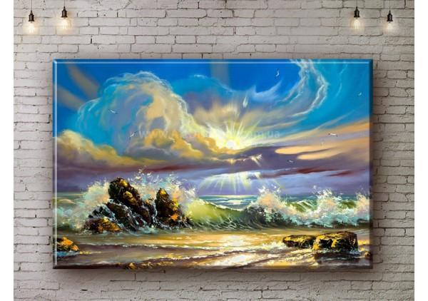 Репродукция картины, печать на холсте со скидкой до -50%, ArtDR0494