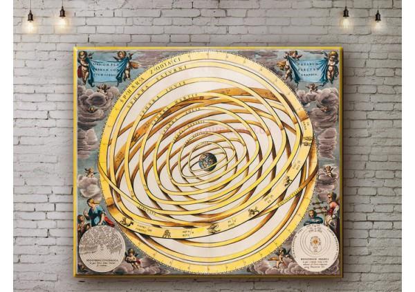 Репродукция картины, печать на холсте со скидкой до -50%, ArtDR0005