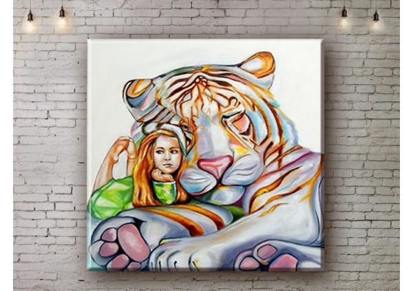Репродукция картины, печать на холсте со скидкой до -50%, ArtDR0185