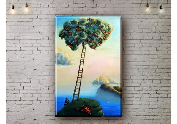 Репродукция картины, печать на холсте со скидкой до -50%, ArtDR0110
