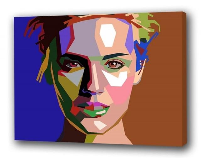 Как сделать самой портрет в стиле поп-арт