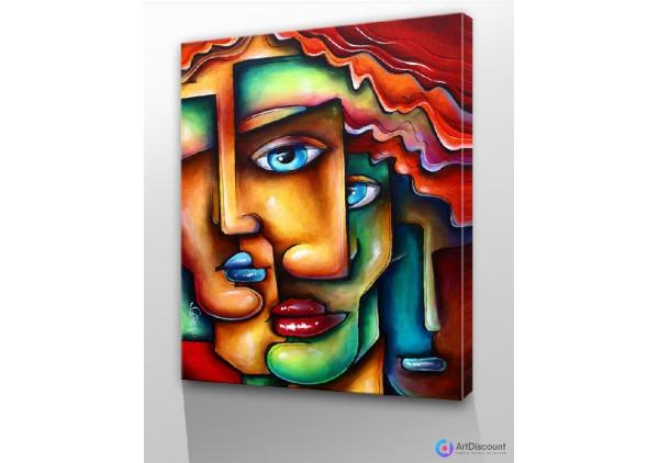 Картины абстракции интерьерные AINR0003