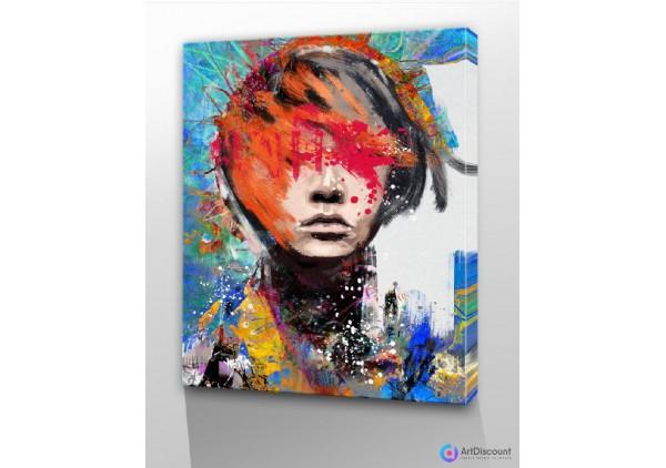 Картины абстракции интерьерные AINR0011