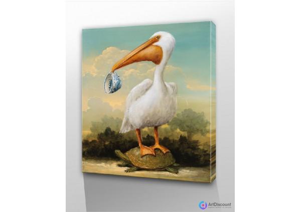 Картины животных Пеликан AANL0010