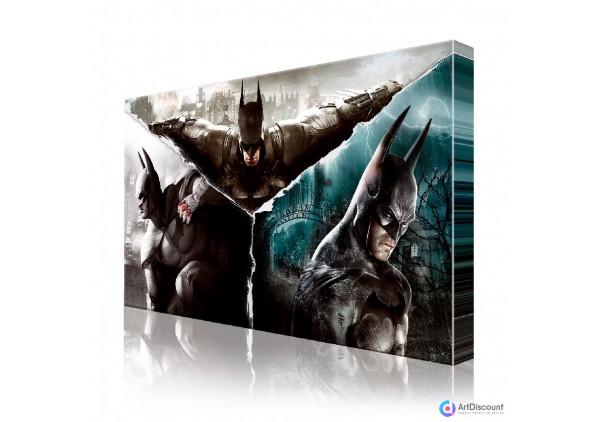 Фотокартина на холсте Бэтмен ACOM0009
