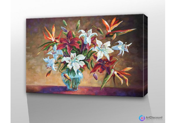 Картина цветы AFLS0004