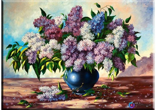 Картина цветы AFLS0006