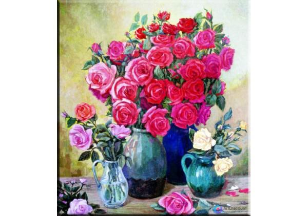 Картина цветы AFLS0007