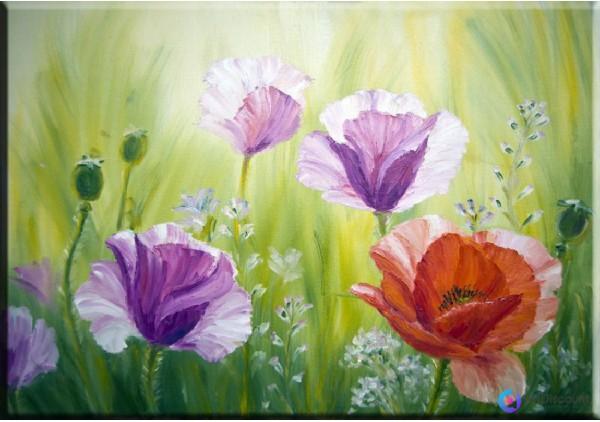 Картина цветы AFLS0011