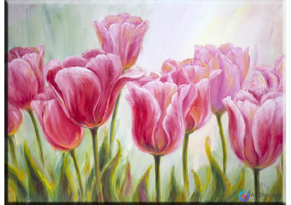 Картина цветы AFLS0013