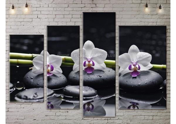 Модульная картина, из четырех сегментов со скидкой до -40%, ArtDM0063
