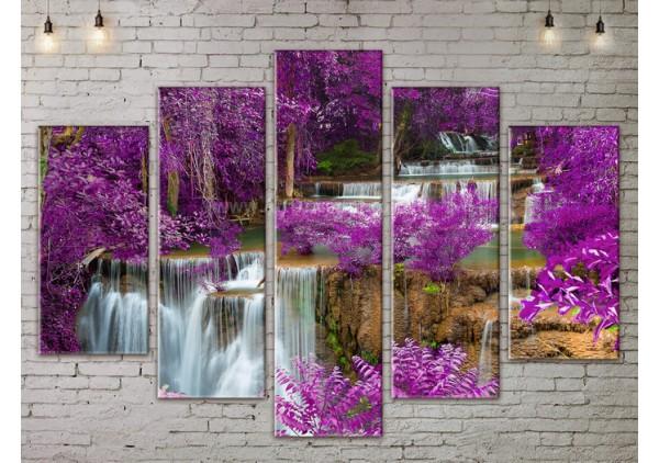 Модульная картина, из пяти сегментов со скидкой до -40%, ArtDM0125