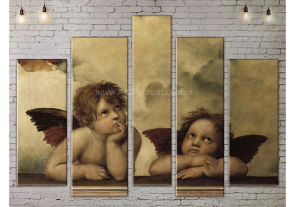 Модульная картина, из пяти сегментов со скидкой до -40%, ArtDM0130