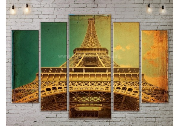 Модульная картина, из пяти сегментов со скидкой до -40%, ArtDM0141