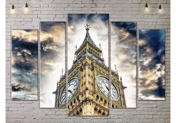 Модульная картина, из пяти сегментов со скидкой до -40%, ArtDM0151