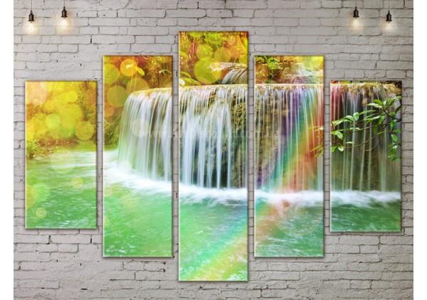 Модульная картина, из пяти сегментов со скидкой до -40%, ArtDM0161