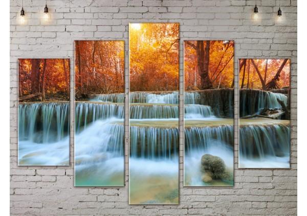 Модульная картина, из пяти сегментов со скидкой до -40%, ArtDM0183