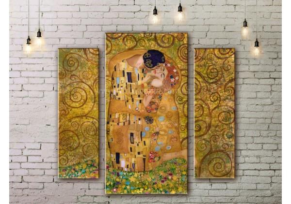 Модульная картина, из трех сегментов со скидкой до -40%, ArtDM0047