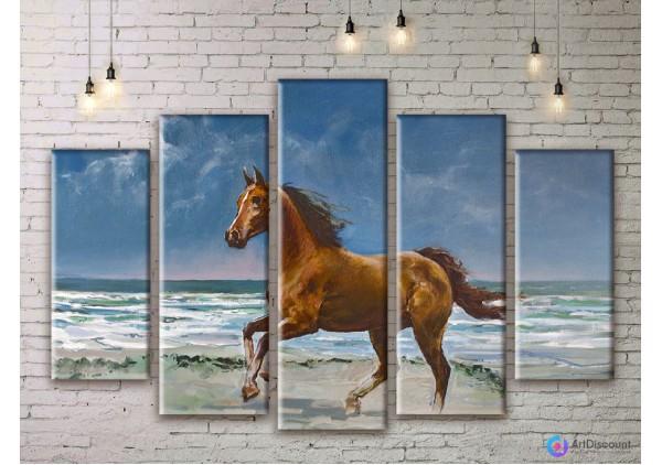 Модульная картина Лошадь AANI5_0040