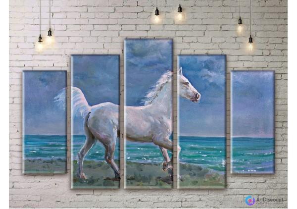 Модульная картина Лошадь AANI5_0042
