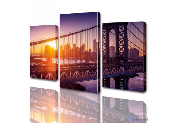 Модульная картина Бруклинский мост ADG0005