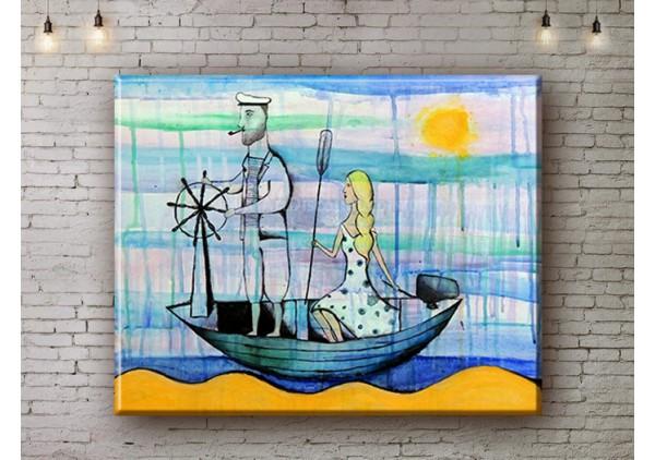 Репродукция картины, печать на холсте со скидкой до -50%, ArtDR0104
