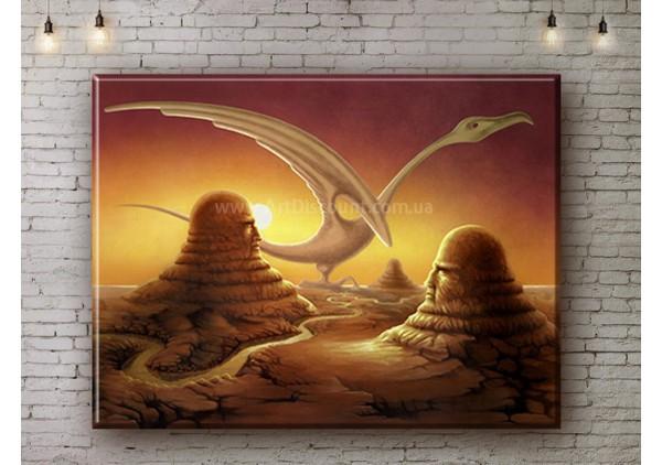 Репродукция картины, печать на холсте со скидкой до -50%, ArtDR0290