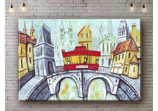 Репродукция картины, печать на холсте со скидкой до -50%, ArtDR0251