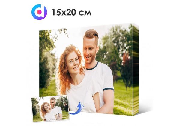 Фото на холсте, печать на холсте 15 х 20 см