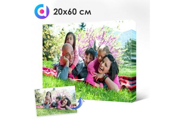 Фото на холсте, печать на холсте 20 х 60 см