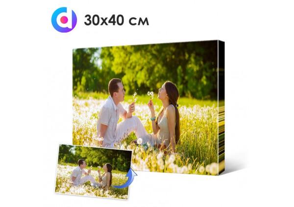 Фото на холсте, печать на холсте 30 х 40 см