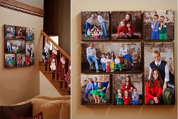 Модульный коллаж на холсте из 7 фото со скидкой до -40%