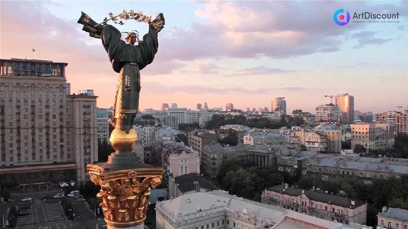 Печать на холсте Киев